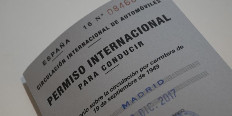 Permiso Internacional Para Conducir